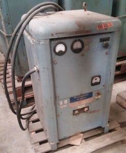 Westinghouse Dc Arc Welder Industrial Shop Welding Equipment Type Rcp Vintage