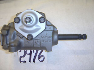 1969 Camaro Manual Steering Box 5679142 Saginaw Gm