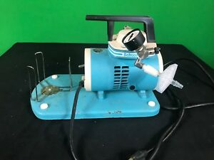 Schuco Vac S130 Vacuum Aspirator Suction Oil less Pump 60hz Cycle 115v 2 9a Used