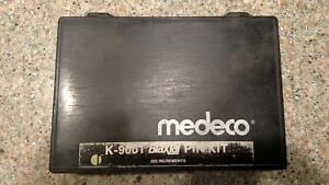 Medeco K 9001 Biaxial Pin Kit 025 Increments Fast Free Shipping