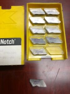 Kennametal Carbide Inserts Top Notch Nb3r K68 Qty 10