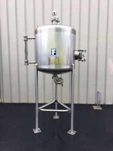 Feldmeier 150 Gallon Stainless Steel Receiver Tank Foodgrade
