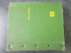 John Deere Parts Catalog Binder