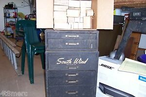 Southwind Heater Parts Cabinet With Parts