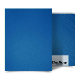 New Blue 35mil Sand Poly 11 X 17 Binding Covers 25pk Free Shipping