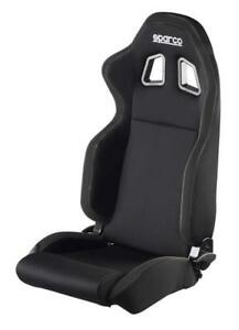 Sparco Seat R100 Black Black Racing Street Lightweight Reclinable
