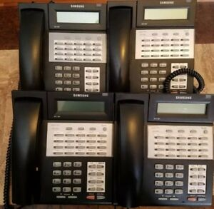 Lot Of 4 Samsung Idcs 28d Digital Business Telephones