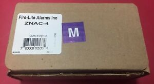 Fire lite Alarms Inc Znac 4 New Old Stock Rev A Free Shipping