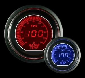 Prosport Universal Evo Metric Series 52mm Water Temperature Gauge 40 240c