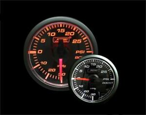 Prosport Universal 45mm Electric Boost Gauge 30inhg 30 Psi