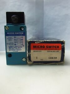New Honeywell Lsa2b Micro Limit Switch 10 Amps Nib