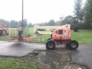2002 Jlg 450a 45 4x4 Articulating Rough Terrain Boom Man Lift