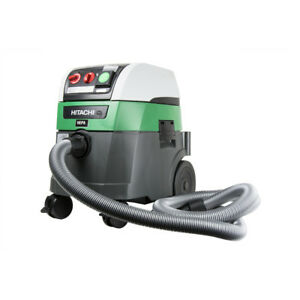 Hitachi 9 2 gal Commercial Hepa Vacuum W Automatic Filter Cleaning Rp350ydh New