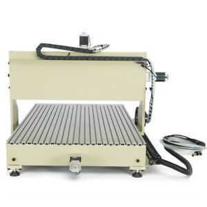Usb 4 Axis 6090 Cnc Router Engraver Machine Metal Woodworking Milling 2200w Vfd