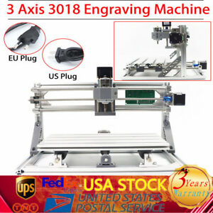 3axis 3018 Cnc Machine Pcb Milling Wood Router Engraver Printer Grbl Control Us