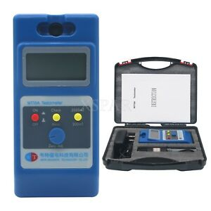 Wt10a Lcd Tesla Meter Gaussmeter Surface Magnetic Field Tester Ns Function Sz