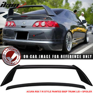 Fits 02 06 Acura Rsx Dc5 Type R Aspec Style Trunk Spoiler Painted b92p 4 Pcs