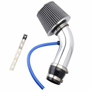 3 High Flow Cold Air Intake Kit System Air Intake Filter With Clamp Accessories