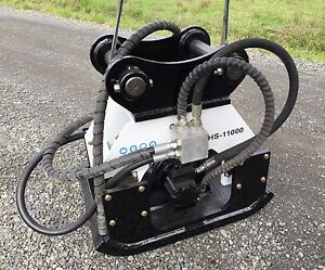 stanley Hs11000 hs Hydraulic Vibratory Plate Compactor hoe Pac 210lx hsx11