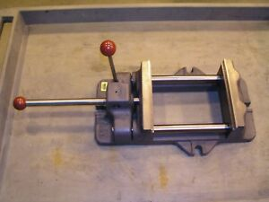 Heinrich Grip master Vise 8 pa Pump Action Locking Unused Excellent Condition