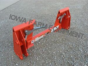 Kubota Pin on Loader To Skid Steer Quick Attach Adapter La350 la401 la402 la450