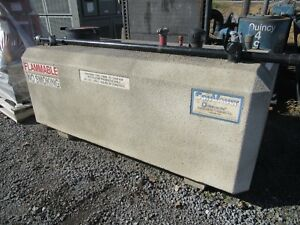 250 Gal Convault Above Ground Fuel Storage Tank 7 8 X 3 9 X 3 3 Concrete
