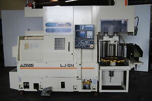 Cnc Lathe Machining Center Tecno Wasino Lj 5n