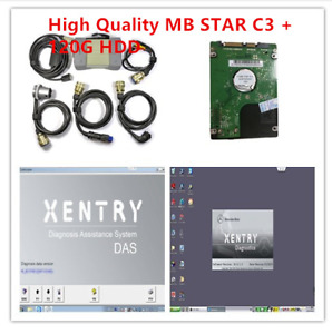 Mb Star C3 With 5 Cables Auto Diagnostic Tool Sd Connect Compact 3 Truck car