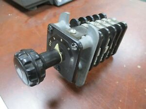 Ge Type Sb 1 Rotary Switch 16sb1da541ssm16k 5 position Used