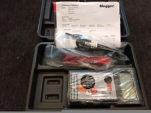 factory New Megger Mit200 en 500v Digital analog Insulation continuity Tester