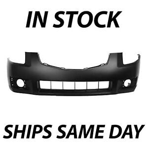 New Primered Front Bumper Cover Fascia Replacement For 2007 2008 Nissan Maxima