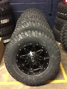 5 17x9 Fuel D531 Hostage Wheels 33 Tires Package Jeep Wrangler Jk Jl Tj