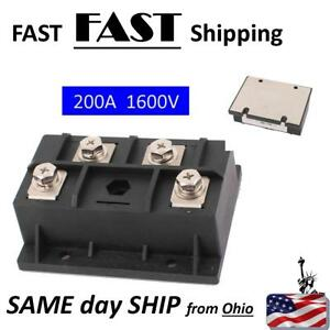 200a 1600v Diode Module Single Phase Bridge Rectifier Mdq 200a