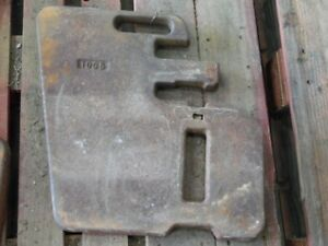 Massey Ferguson Cab Tractor Taylor Foundry 100 Lb Suitcase Weight Tag 129