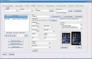 Windows Inventory Software For Small Business Usb Barcode Scanner Excel