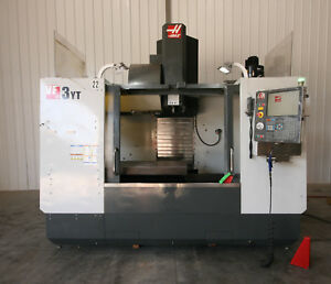 12748 Haas Vf 3yt Cnc Vertical Machining Center 2010 With 30 000 Rpm Spindle