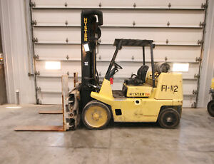 12788 Hyster 15 000 Lbs Capacity Forklift Model S155xl2