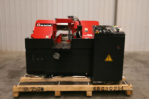 13700 Amada 10 X 10 Automatic Horizontal Saw Model Ha250w New