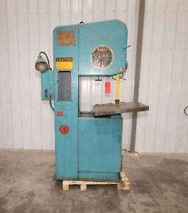 13149 Doall Model 2013 10 Vertical Band Saw 20 Capacity