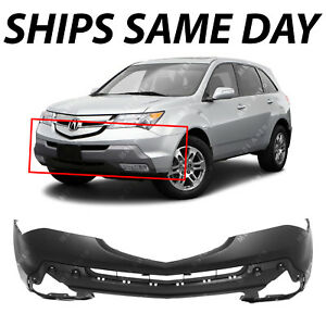 New Primered Front Bumper Cover Replacement Fascia For 2007 2009 Acura Mdx Suv
