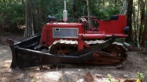 International Harvester Tractor Crawler Td 6