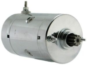 New Chrome Starter Fits Harley Davidson Replaces 31570 73 31570 73b 31570 73t