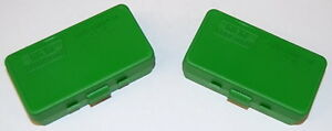 MTM 50 Round Ammo Box 44 Cal Solid Green # P50-44-10 2 PACK Sku# 0566061