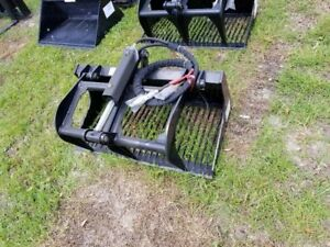 New Mini Skid Steer 36 Grapple Attachment Boxer Vermeer Toro Bobcat