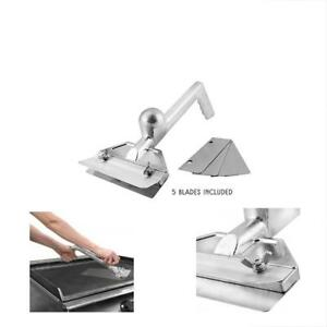Heavy Grilling Barbecue Utensils Duty Commercial Grade Metal Flat Top Griddle