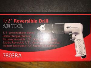 New 1 2 Ingersoll Rand Air Drill