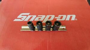 Snap On Tools 3 8 Drive Magnetic Shallow Metric Socket Set Mfimm10a 12 13 15