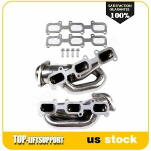 For 2013 2014 Ford Mustang Dohc 3 7l Shorty Stainless Header Exhaust Manifold