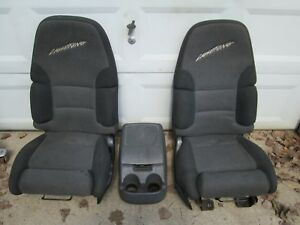 93 94 95 1993 1994 1995 Ford F 150 Lightning Svt Seats And Console Super Rare
