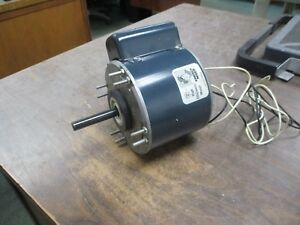 Westinghouse Ac Motor 1 3hp 1075rpm Fr Ft48 115v 4 9a 60hz 1ph Used